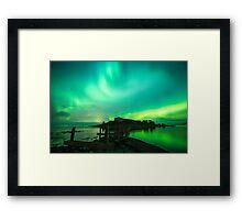 I LOVE NORWAY Framed Print