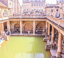 The Roman Bath - Aquae Sulis by Arvind Singh