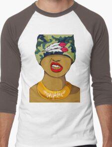 Grillz Men's Baseball ¾ T-Shirt