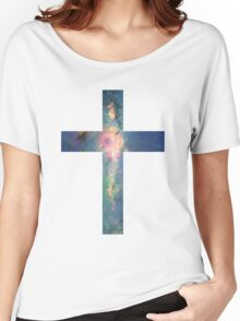 A Cross in the Stars Women's Relaxed Fit T-Shirt