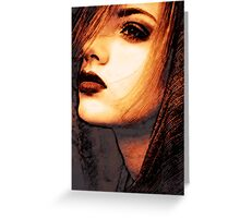 Face 26 Greeting Card
