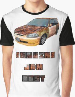 Genuine JDM Rust Civic Graphic T-Shirt
