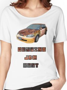 Genuine JDM Rust Civic Women's Relaxed Fit T-Shirt