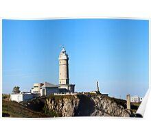 Sardinero lighthouse Poster