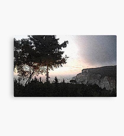 Paxos Sunset Canvas Print