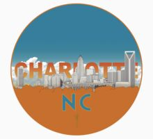 Charlotte NC One Piece - Short Sleeve
