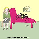 Addicted to the web by Pauline O'Brien