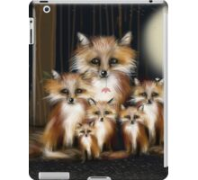Fox Family iPad Case/Skin