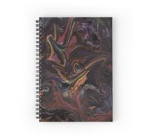 Multicolored marble texture Spiral Notebook