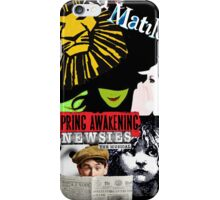 Broadway Blockbusters  iPhone Case/Skin