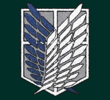 Attack on Titan: Scouting Legion Crest by zurcuer
