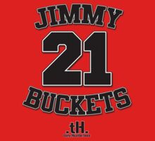 Jimmy Buckets Tee. by tony.Hustle.tees ®