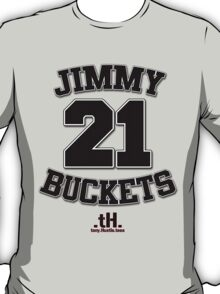 Jimmy Buckets Tee. T-Shirt