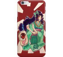 Oni girl iPhone Case/Skin