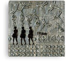525,600 Minutes Metal Art - WIP Canvas Print