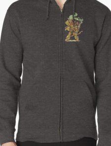 ChewyDinosaur Adventurer (Zippered Hoodie Version) T-Shirt