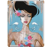 Who do you think you are iPad Case/Skin