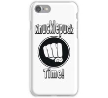 Knucklepuck Time iPhone Case/Skin