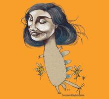 Dinosaur Girl by busymockingbird