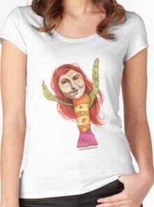 Flipper Women's Fitted Scoop T-Shirt