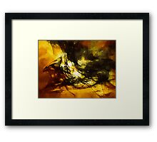 The Black Knight by Elisabeth and Barry King™ Framed Print