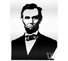 Abe Lincoln | Color History | Wighte.com/color-history Poster