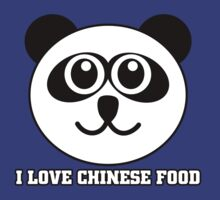 I Love Chinese Food by Alsvisions