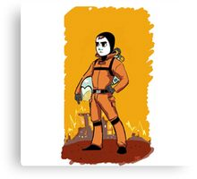 Standard Space Hero Canvas Print