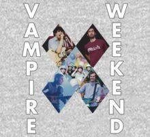 Vampire Weekend Collage T-Shirt