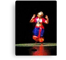 The Indian Dancer is a Story Teller   Canvas Print