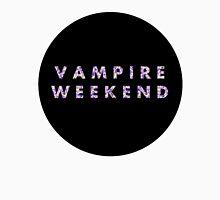 Violet Floral Vampire Weekend Long Sleeve T-Shirt