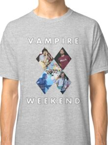 Vampire Weekend Collage 2 Classic T-Shirt