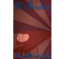 Divided States Poster Photographic Print