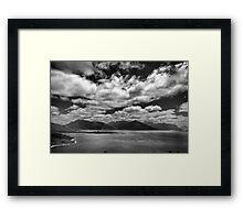Windy Day - Lake Pedder Framed Print