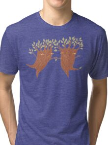 Dancing Trees Tri-blend T-Shirt