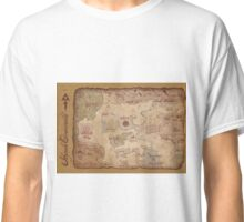Hyrule Overworld Map - Legend of Zelda: A Link to the Past Classic T-Shirt