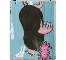 Barry the star nosed mole iPad Case/Skin