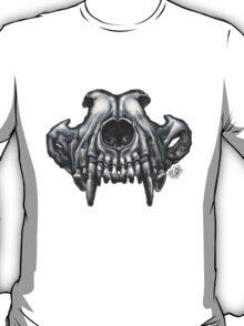 Wolf Skull (Black & White) T-Shirt
