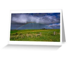 """""""A Promise In The Hills"""" Greeting Card"""