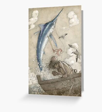 The Old Man and the Sea Greeting Card