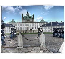 Visiting  Mary (1) = Fredensborg Palace Poster