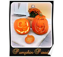 Pumpkin Parade Poster