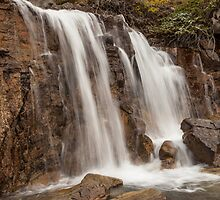 Lower Tangle Falls by Ron Finkel