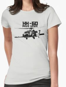 HH-60 Pave Hawk Womens Fitted T-Shirt