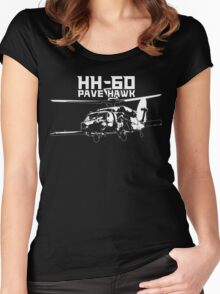 HH-60 Pave Hawk Women's Fitted Scoop T-Shirt