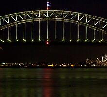 Sydney Harbour nights by joeferma