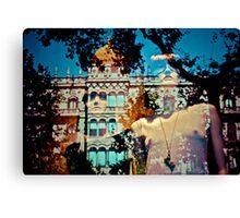 Surrealistic Maidens of Barcelona Canvas Print