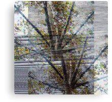 Suspension of disbelief or an untied sense bridge. Canvas Print