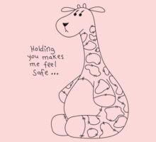 Nostalgic Love - Giraffe One Piece - Short Sleeve