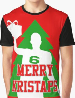 Merry Kristaps - Red Graphic T-Shirt